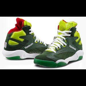 Reebok Shaq Attaq Ghost of Christmas Sneaker